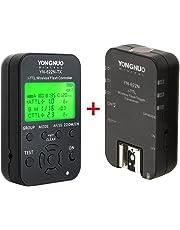 Yongnuo YN622N-KIT inalámbrico i-TTL de Disparo de Flash Kit con Pantalla LED para cámaras Nikon, Incluye Controlador YN622N-TX y YN622 N + transmisor-Receptor WINGONEER difusor de Flash