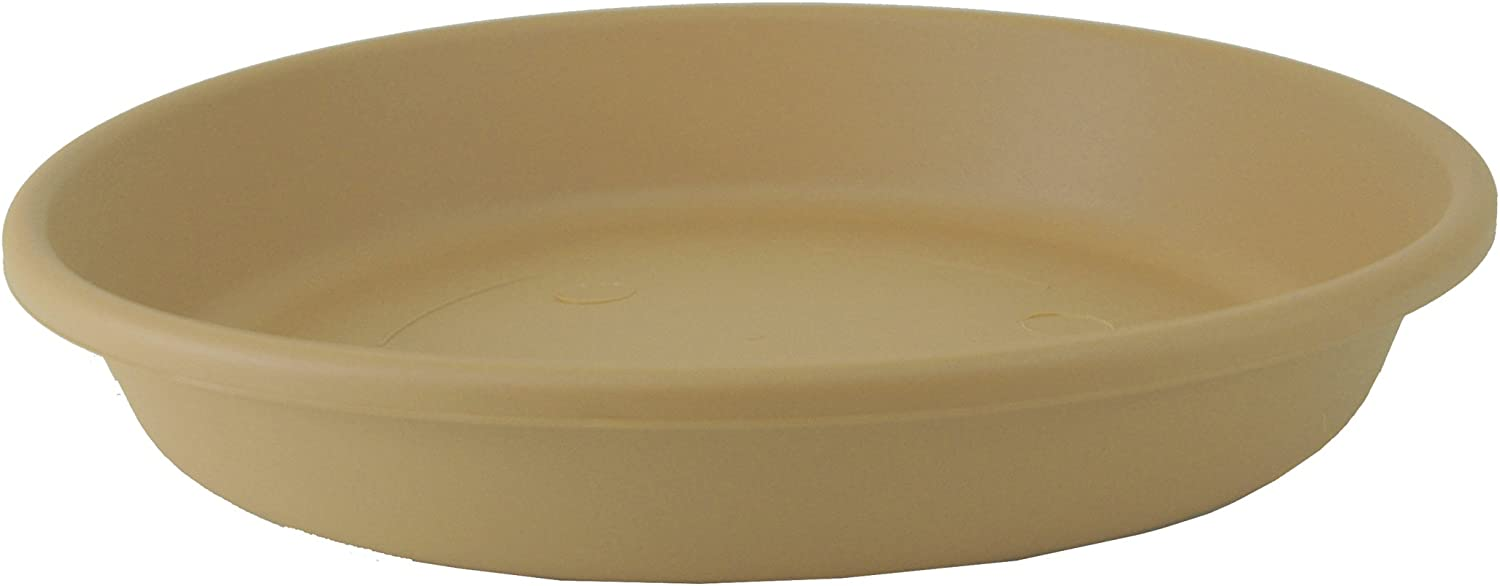 Akro Mils SLI24000A34 Classic Saucer for 24-Inch Classic Pot, Sandstone, 21.13-Inch : Planter Saucers : Garden & Outdoor
