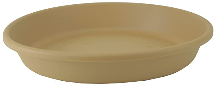 Akro Mils SLI24000A34 Classic Saucer for 24-Inch Classic Pot, Sandstone, 21.13-Inch