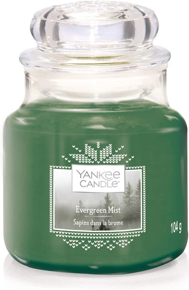 Yankee Candle Classic Small Jar, Wax, Evergreen Mist