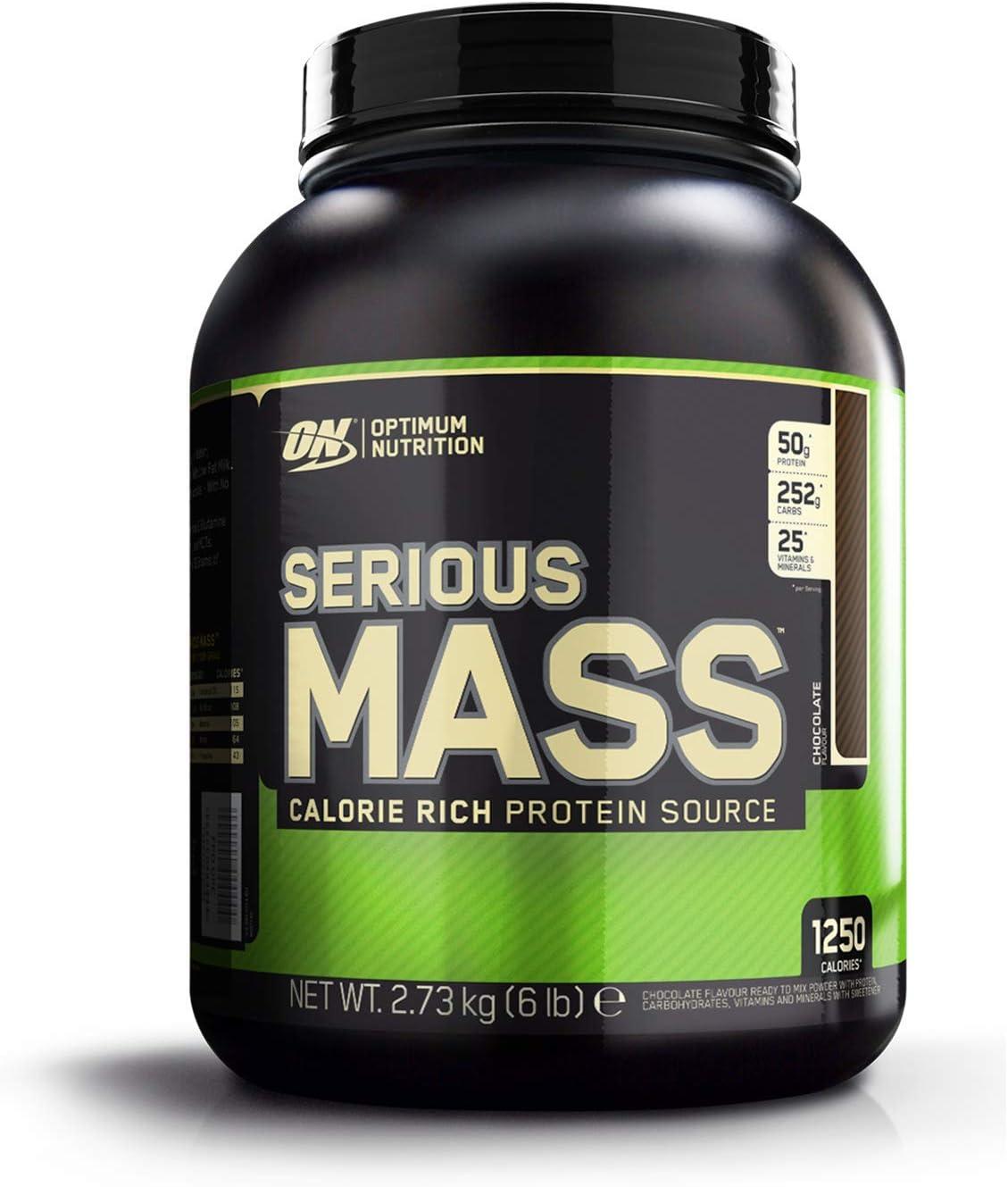 Optimum Nutrition ON Serious Mass proteina en polvo mass gainer ...