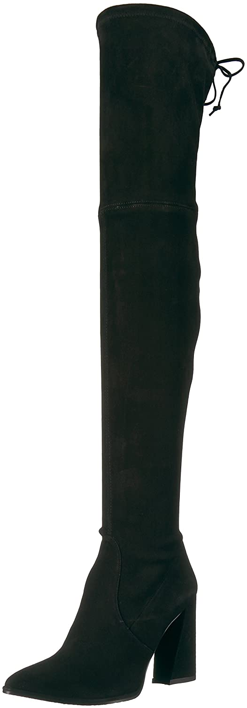 Stuart Weitzman Women's Funland Over The Knee Boot B06VT6VTM2 11 B(M) US|Black