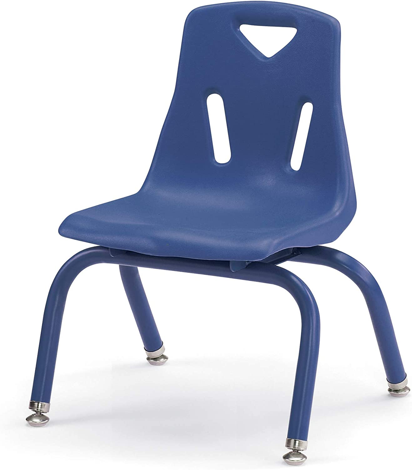 """Jonti-Craft 8120JC1003 Berries Stacking Chair with Powder-Coated Legs, 10"""" Height, Blue: Industrial & Scientific"""