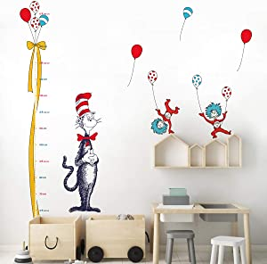 decalmile Height Chart Wall Decals Kids Measure Growth Wall Stickers Baby Nursery Classroom Childrens Bedroom Wall Decor