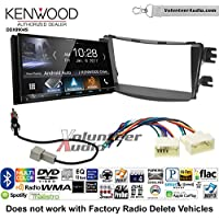 Volunteer Audio Kenwood DDX9904S Double Din Radio Install Kit with Apple CarPlay Android Auto Bluetooth Fits 2012-2013 Hyundai Accent