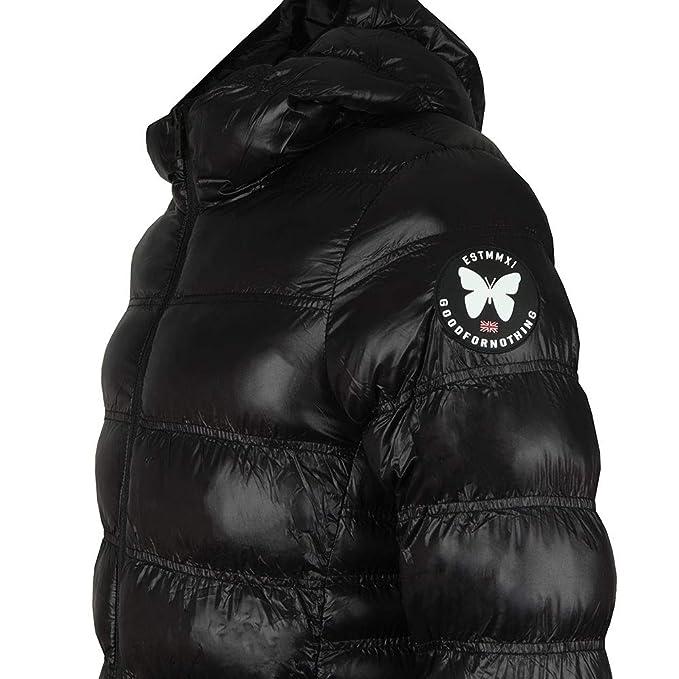 e8fec74ba0 Good For Nothing - Wet Look Element Jacket, Black, XS: Amazon.co.uk:  Clothing