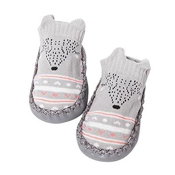 e601fddb86de6 Amazon.com : Baby Anti-Slip Slipper Socks, Kintaz Kids Cute 3D ...