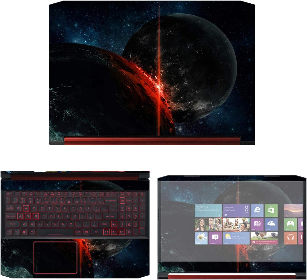"""Decalrus - Protective Decal Space Skin Sticker for Acer Nitro 5 AN515-54 (15.6"""" Screen) case Cover wrap ACnitro5_AN515-54-150"""