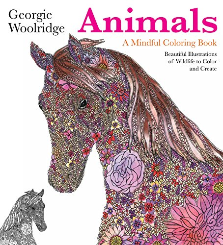 - Animals: A Mindful Coloring Book