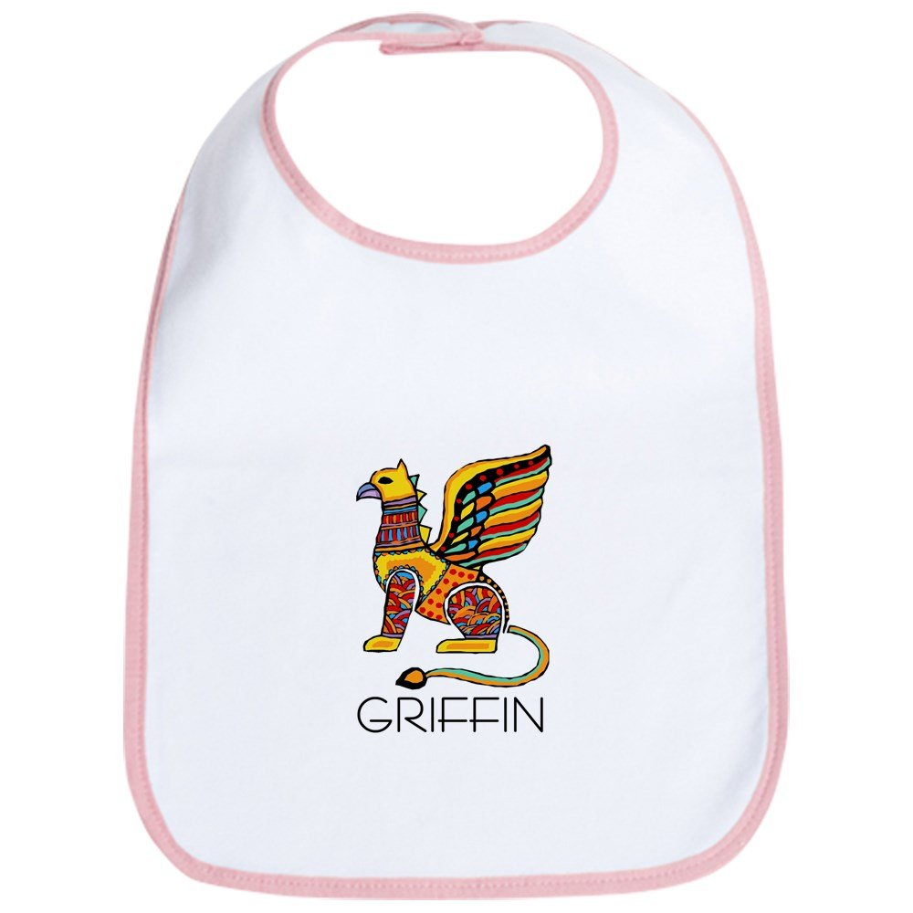 CafePress - Colorful Griffin Bib - Cute Cloth Baby Bib, Toddler Bib