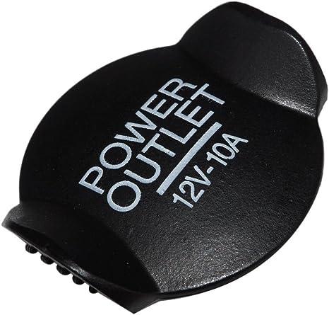 beler Black 12V 21mm Presa accendisigari presa tappo di copertura 1073223
