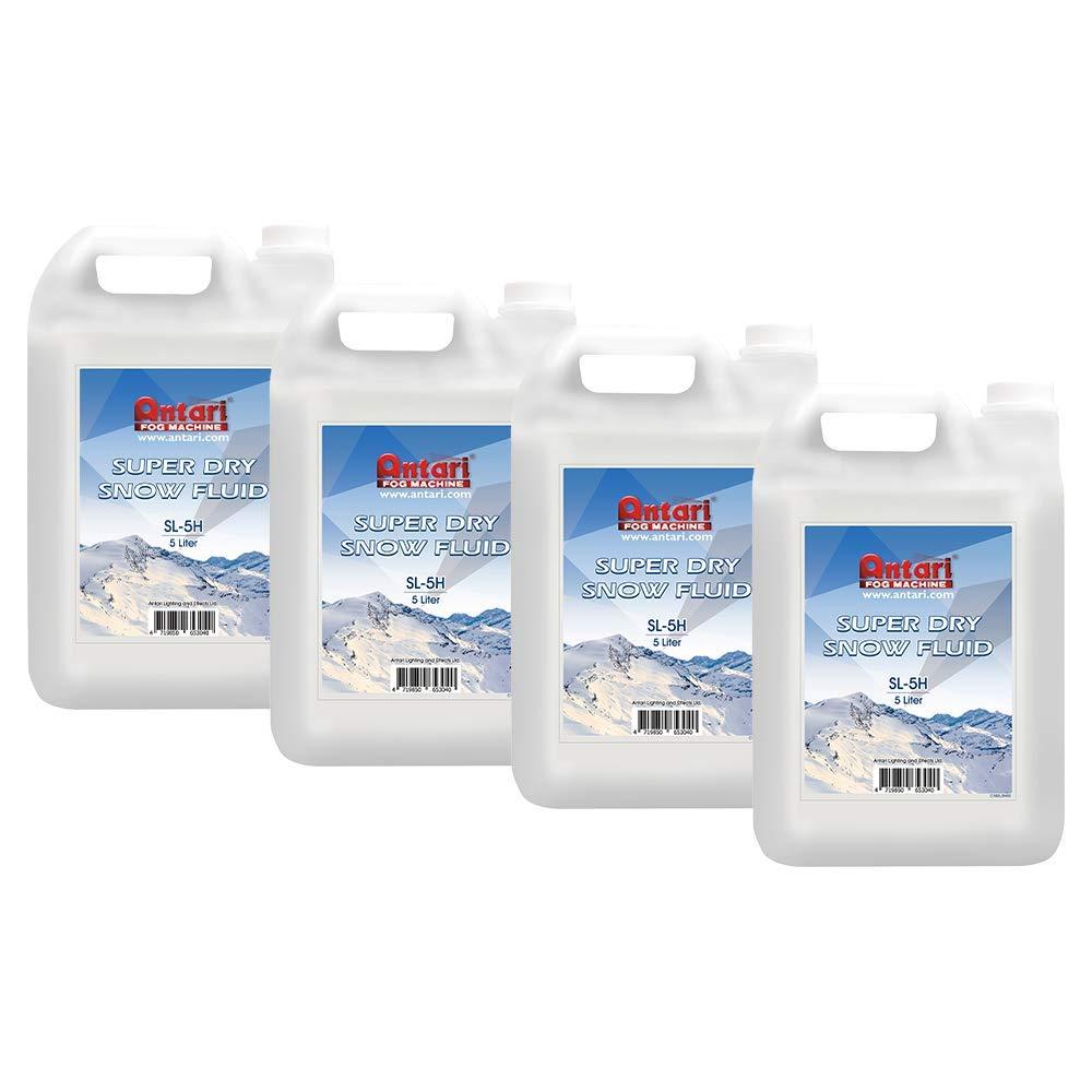 Antari SL-5H - Super Dry/High Volume Snow Fluid (4 Pack) by Antari