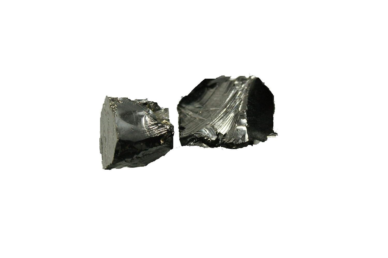 MyHomeLux Edel Schungit Wassersteine Rohsteine Elite Shungite Wasseraufbereitung 2 Steine 12-14 Gramm Edelschungit Energetisierung Karelischer Schungit mit QUALITÄ TSGARANTIE und Anleitung! MyHomeLux®