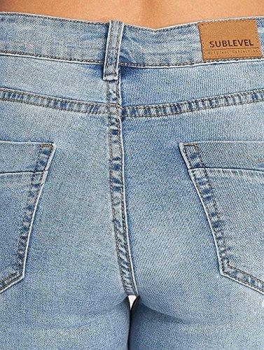 Bleu Sublevel Jean skinny Femme Jeans Skinny 0xXAB