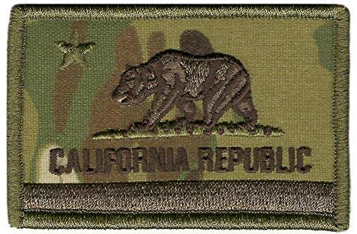 MULTICAM Tactical Patch - CALIFORNIA