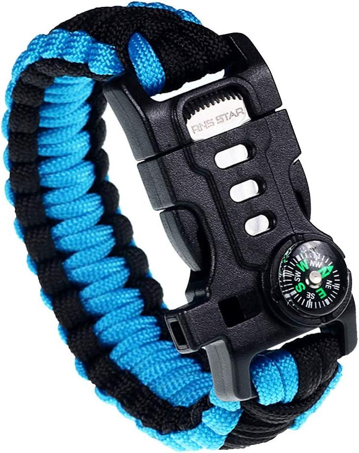 RNS Star Paracord Survival Bracelet Gear Kit