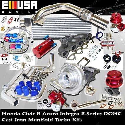 Amazoncom Turbo Kit B Series HONDA CRXCivic ACURA - Acura integra turbo kit