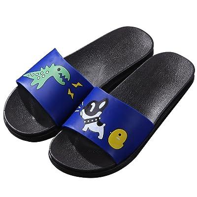 Outdoor Indoor Sandals Beach Water Flip Flop JACKSHIBO Boys Girls Slide Sandals