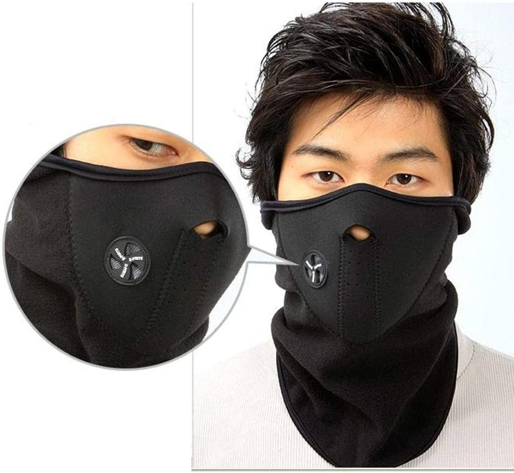 widome Unisex Outdoor Cycling Windproof Mask Winter Skiing Warm Mask with Neck Warmer Diving Masks