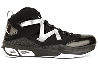 the latest 1e709 f052d Nike Men s Jordan MELO M9 Basketball Shoes 11 Men US (Black White Metallic