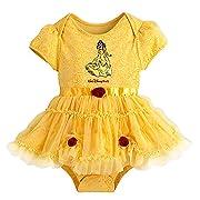 Disney Baby Bodysuit - Belle Costume Bodysuit for Baby - Yellow (6 Months)
