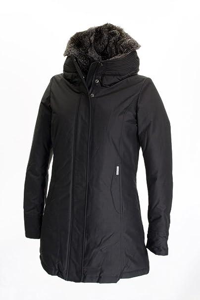 Woolrich Boulder Parka Giacca Donna, Faded Black, XL