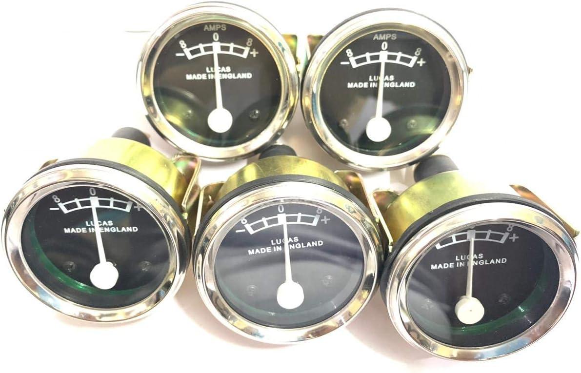 36084 New Repro LUCAS Ammeter for 8-0-8 6 volt ampere 8 Amp BSA TRIUMPH ARIEL NORTON