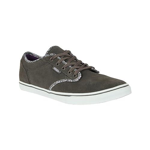 scarpe vans donna argento