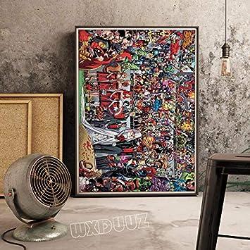 mmzki Película Anime Hero Poster Decoración de la habitación de ...