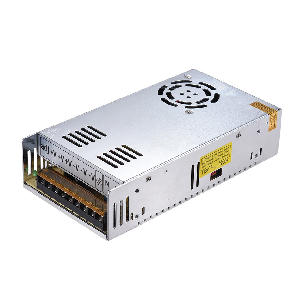 Aibecy DC 12V 360W 30A Universal Regulated Switching Mode Power Supply for Creality 3D Printer CR-10 CR-10S