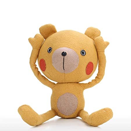 Tooarts Muñeca Oso De Yoga Yoga Bear Doll Cartoon Animal ...