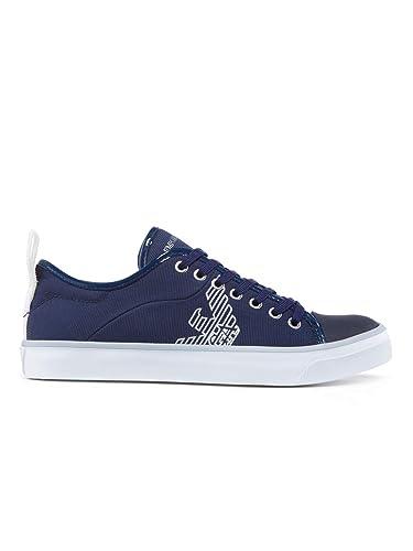 8c7250b2270e Emporio Armani Logo Pump Femme Baskets Mode Bleu  Amazon.fr  Chaussures et  Sacs