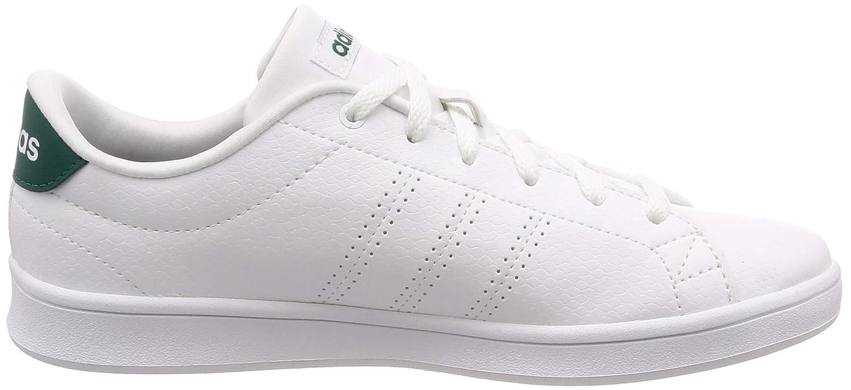Amazon Mujer De Tenis Para Adidas Clean Zapatillas Qt es Advantage Pncw7xOF
