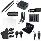 Dreamgear Dg3dsxl-2261 Kit De Acessórios Gamer Essencial Com 20 Peças Para Nintendo New 3ds Xl, Dreamgear, Preto - Android