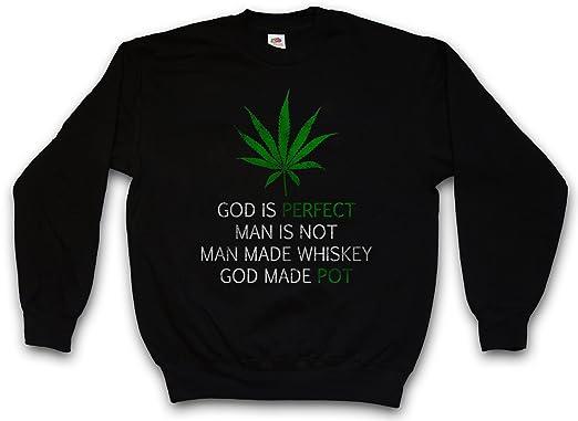 Urban Backwoods Cannabis Leaf Poem Sudadera para Hombre Sweatshirt Pullover - Marihuana Weed Ganja Marijuana Pot Tamaños S - 5XL: Amazon.es: Ropa y ...