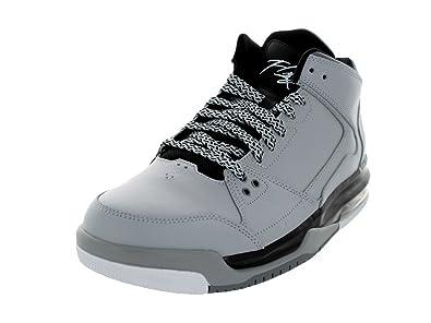 Jordan Mens Jordan Heritage Wolf GreyBlackWhite Basketball Shoe 115 Men US  NHLJKRE59