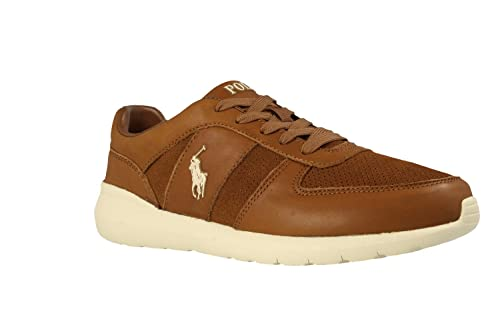 Zapatillas Polo Ralph Lauren Cordell - Color - MARRON, Talla - 40 ...