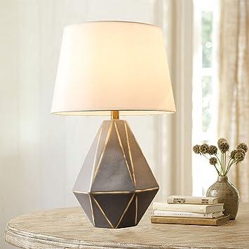 Shuang Lámparas de Mesa de cerámica - Luces de cabecera de ...