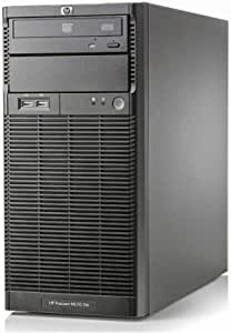 HP Proliant ML110 G6 Tower, Intel Xeon Quad Core, 16 GB RAM, 2 x HDD 500 GB, Raid Ctrl. Windows Server Standard 2019 (reacondicionado certificado)