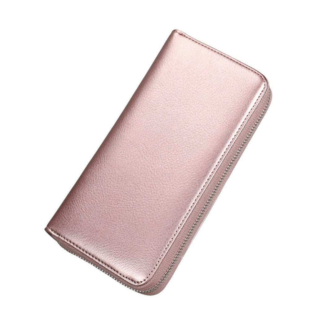 Wallets Wallet Credit Card Holder Slim Pocket Credit Card Wallet for Men Women Travel Thin Color : Black