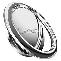 Lamicall Handy Ring Halter, Phone Ring Halterung : Universal 360° Drehbarer Smartphone Fingerhalter für Phone XS Max XS XR X, Phone 7 7 Plus 8 8 Plus, Samsung S9 S8 S7 S6 S5 S4 - Siber