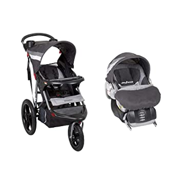 Baby Trend Range Jogging Stroller And Infant Car Seat Travel System Liberty