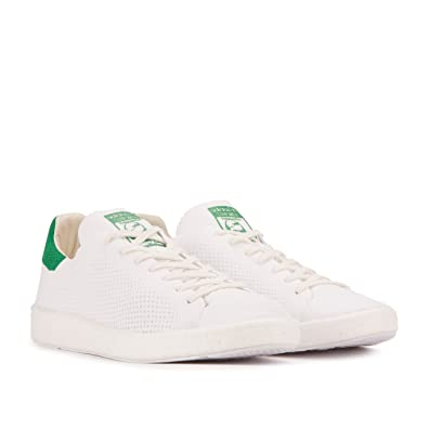 adidas Stan Smith Primeknit Mens (w/Boost Sole) in White/Green by