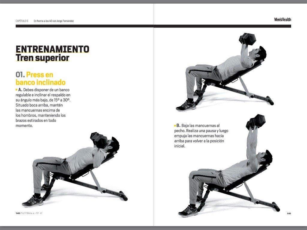 En Forma A Los 40 (DEPORTES Y NATURALEZA): JORGE/MENS HEALTH FERNANDEZ: 9788416449316: Amazon.com: Books
