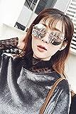 Generic Round cat-eye sunglasses women metal double beam sunglasses Europe and America retro colorful sunglasses