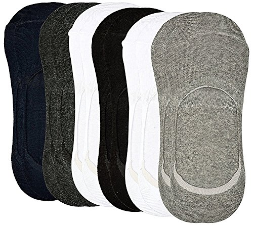 Tex Homz Anti-Slip Unisex Cotton No show Loafer Socks