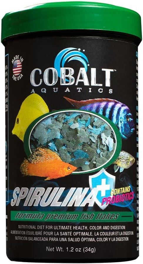 Cobalt Aquatics Spirulina Flakes 1.2 oz.