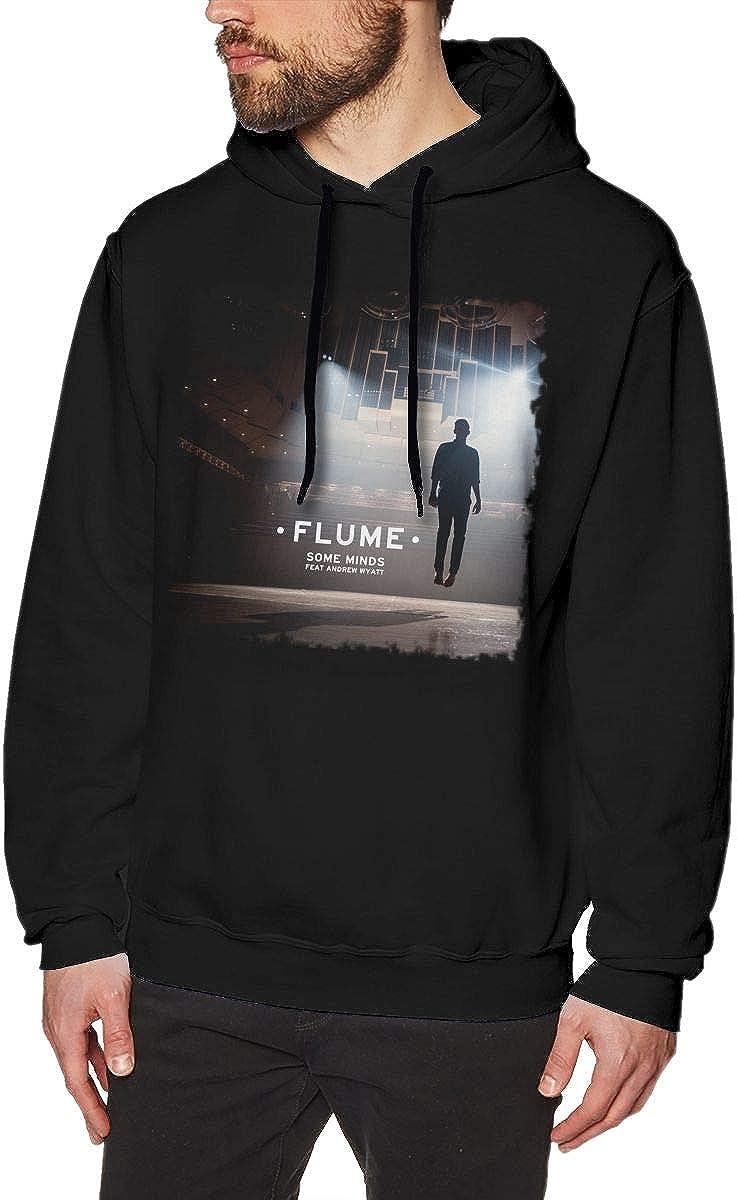 Majunnn Flume Some Minds Men Comfort Jacket Hoodie Sweatshirt Black