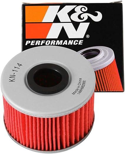 K/&N ATV Air Filter KN-114 Oil Filter Combo HA-5000