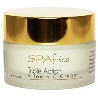 SPAfrica Triple Action Vitamin C Cream, 1 fl. oz.